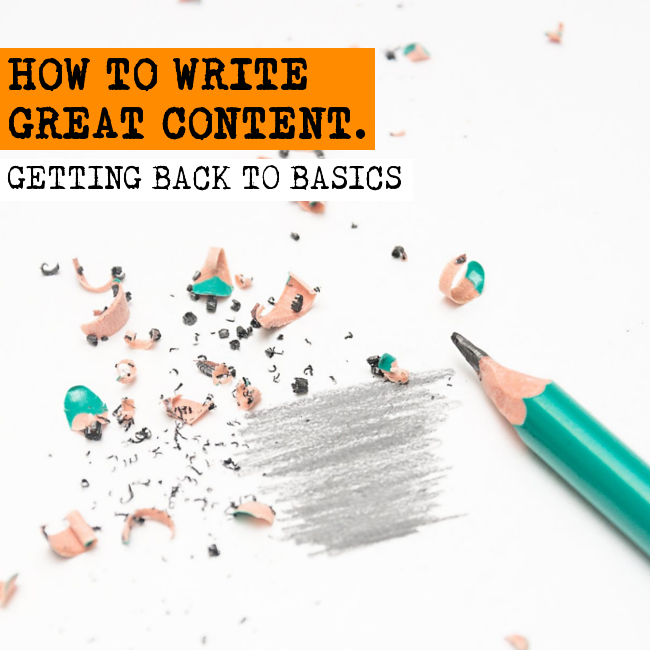 Find out how to write great content without a background in writing