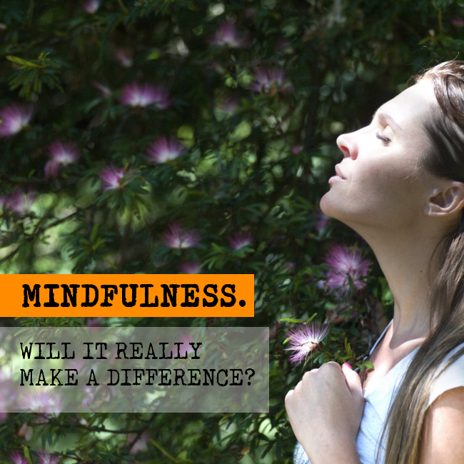 Practicing mindfulness for work, productivity and concentration.