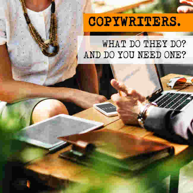 What does a copywriter do? Find out everything you need to know courtesy of Fyxen Copywriters.